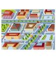 Retro city vector image vector image