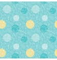 Seamless pattern from leaves and dots