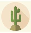 Saguaro icon vector image