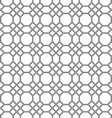 Seamless pattern of the octagon vector image vector image