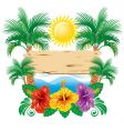 Tropical label vector | Price: 3 Credits (USD $3)
