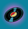 vinyl record music vector image