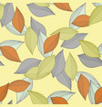 a pattern made of multi-colored fallen autumn vector image