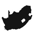 african map icon simple style vector image