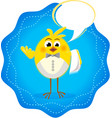 funny icon with chickens restaurant 3 vector image