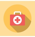Medicine Chest Icon vector image vector image