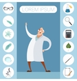 Set of sciense icons vector image vector image