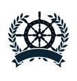 timon wheel maritime icon vector image