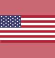 usa flag image of usa flag the star vector image