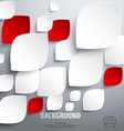 abstract paper art background vector image