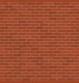 brick wall background vector image vector image