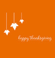 greeting card thanksgiving style collection vector image vector image