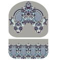 pattern of purse money design you can print on vector image vector image