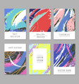 retro abstract backgrounds with texture in vector image vector image