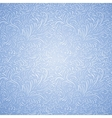 Seamless frost decor pattern vector image vector image
