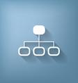 server network vector image