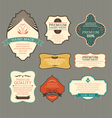 Vintage label for retro banners vector image vector image