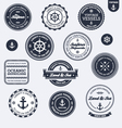 Vintage nautical labels vector | Price: 3 Credits (USD $3)