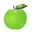 green apple - vector image