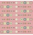 Beautiful pastel circles background vector image vector image