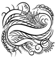 Calligraphy line vector | Price: 1 Credit (USD $1)