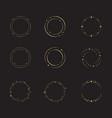 circle star icon design vector image