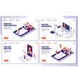 online pharmacy online doctor web vector image vector image
