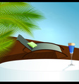 Summer relax vector image vector image