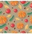 Autumn Harvest Seamless Pattern vector image vector image