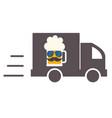 beer delivery symbol template logo vector image vector image