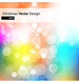 Colourful Christmas vector image vector image