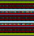 handmade colored stripes bright tribal seamless vector image vector image