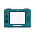 portable videgame console vector image vector image