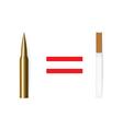 Anti tobacco concept vector image