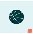 Baskettball ball icon vector image vector image