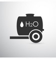 black water tank vector image