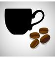 Cofffee icon drink concept Flat illiustration vector image vector image