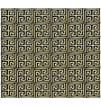 Greek Key Pattern Design vector image vector image
