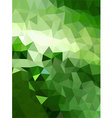 Green triangle abstract background vector image vector image