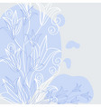 Herbal background vector image