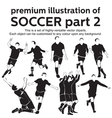 Premium Soccer Part 2 vector image