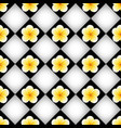 seamless pattern with plumeria frangipani flowers vector image vector image