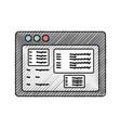 Website internet symbol vector image