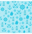 sample Pattern Seamless with Marine vector image