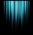 abstract blue magic light rays over dark vector image