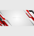 abstract corporate banner web design red