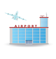 Airport vector image vector image