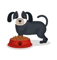 dog pet shop icon vector image vector image