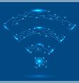 gprs logo radio wave icon wireless network