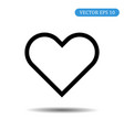 heart icon love symbol valentines day ba vector image vector image
